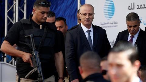 Explosion targets Palestinian PM's convoy during rare Gaza visit