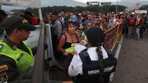 UN says refugee claims by Venezuelans surging