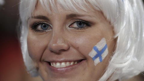 Finland is ranked the world's happiest country