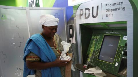 ATM pharmacy to ease burden on South Africa's hospitals
