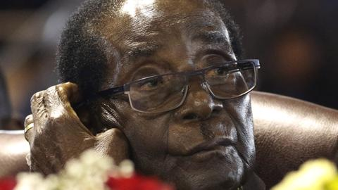 Former Zimbabwe president Mugabe calls his ouster 'coup'