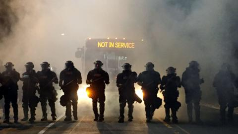 Protest flares after police kill black man in Charlotte