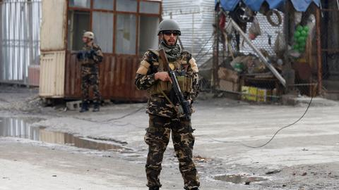 At least three killed in Kabul attack
