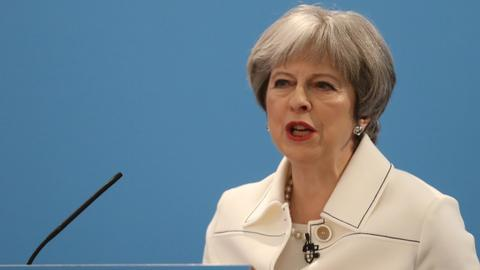 Russia's UK diplomat expulsion 'doesn't change facts of matter' says May