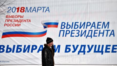 Voting stations are opening across Russia as Putin seeks a fourth term
