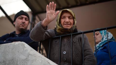 Syria's Afrin residents welcome Turkish forces with open arms
