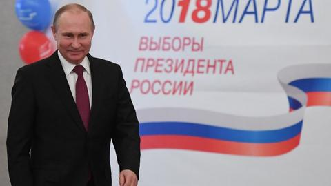 Russia's Putin set to win fourth term as president