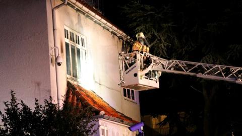 Turkey's embassy in Copenhagen firebombed