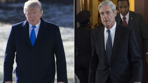 Trump jabs Mueller, but White House says firing not in works