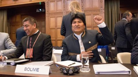 Bolivia's Morales in The Hague to petition over Chile sea access