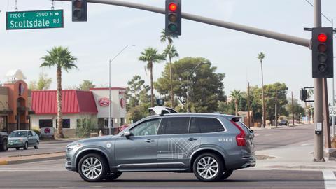Self-driving Uber car kills pedestrian