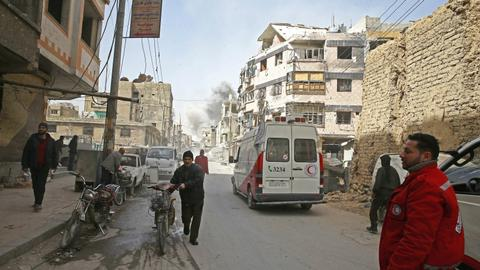 Syrian regime's siege of eastern Ghouta involved 'war crimes'
