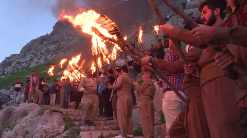 Nowruz festival celebrated in Iraq