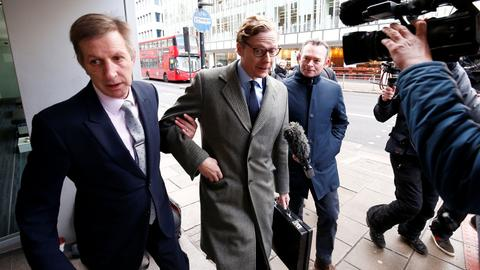 CEO of Cambridge Analytica suspended over Facebook scandal