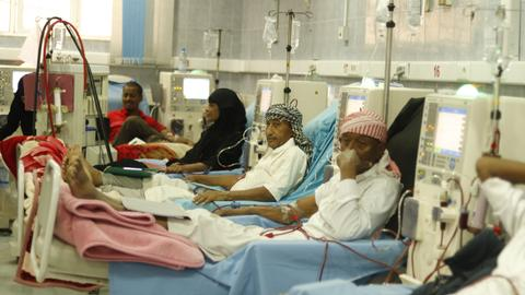 Kidney failures are on the rise in Yemen