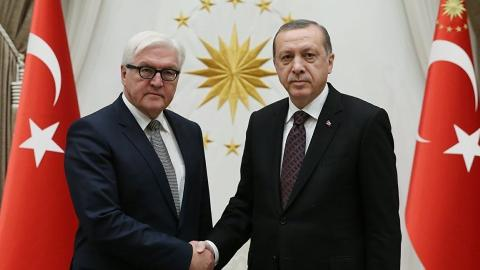 Erdogan and Steinmeier discuss counterterrorism over phone