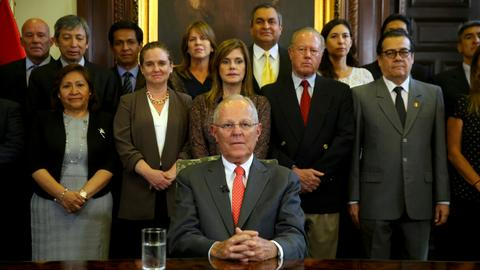 Peru's president Kuczynski offers resignation on eve of impeachment vote