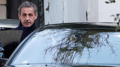 Former French president Sarkozy charged over Libyan corruption allegations