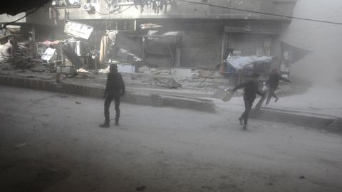 Bombardment kills at least 37 civilians in eastern Ghouta