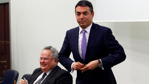 Macedonia, Greece move to resolve decades long name dispute