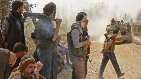 'Largest military entity' against Assad regime formed