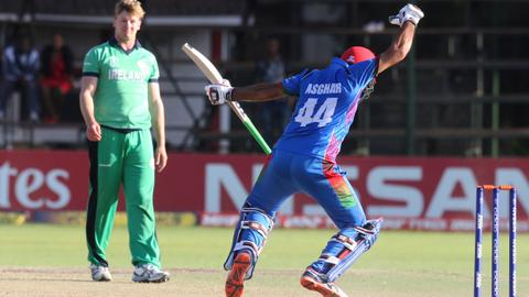 Afghanistan beat Ireland to qualify for Cricket World Cup