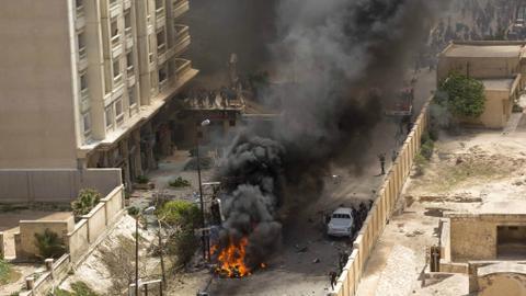 Bombing ahead of Egypt vote kills two policemen in Alexandria
