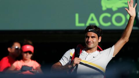 Federer to lose number 1 ranking after shock loss in Miami