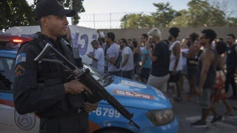 Eight killed in Rio favela police operation - military
