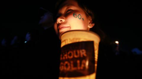 Lights go dark across the globe for Earth Hour to highlight climate change