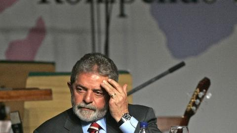 More uncertainty in Brazil's future as former president heads to prison