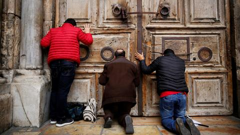 Gazan Christians not permitted to visit Jerusalem at Easter