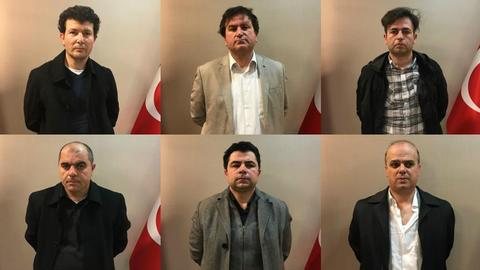Six senior FETO suspects arrested in Kosovo and brought to Turkey