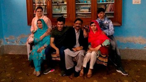 Nobel prize winner Malala visits former home in Pakistan