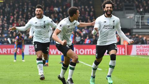 Salah sinks Palace, Sanchez ends goal drought