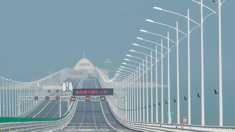 China to unveil world's longest sea bridge