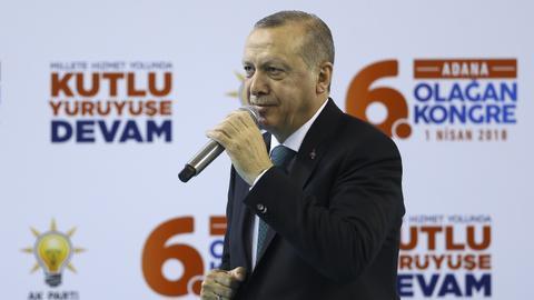 Erdogan calls Netanyahu 'occupier' and 'terrorist' over Afrin remarks