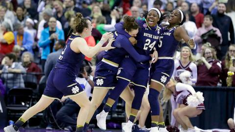 Notre Dame beat Mississippi State to claim NCAA women's title