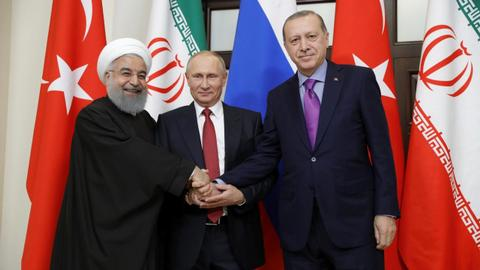 Leaders of Astana trio meet in Ankara for Syria talks
