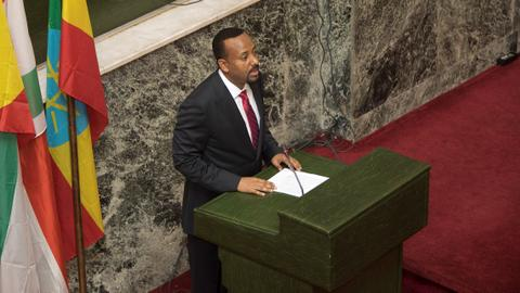 Ethiopia swears in Abiy Ahmed as PM amid hopes for peace