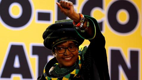 Anti-apartheid campaigner Winnie Madikizela-Mandela dies aged 81