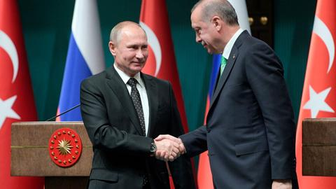 Turkey and Russia aim to strengthen relationship