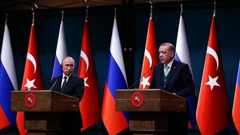 Turkey and Russia agree on early delivery for S-400 missile systems