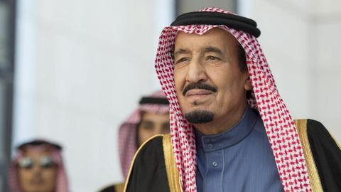 Saudi king reiterates support for Palestinians after Israel comments