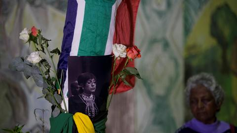 South Africa declares 10 days of mourning for Madikizela-Mandela