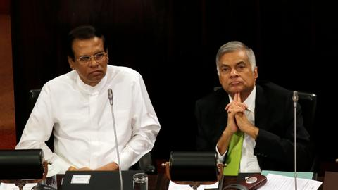 Sri Lanka's parliament to vote on confidence in the government