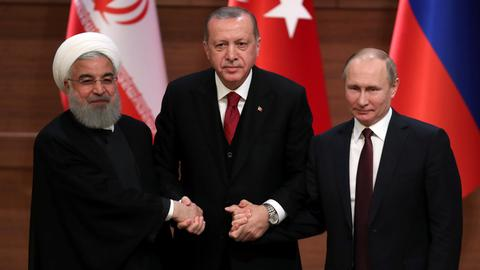 What was the outcome of the Syria summit in Ankara?