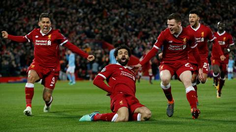 Liverpool stun Man City with 3-0 win at Anfield