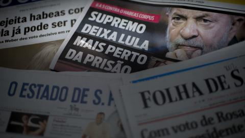 Brazil's Lula ordered to prison within hours