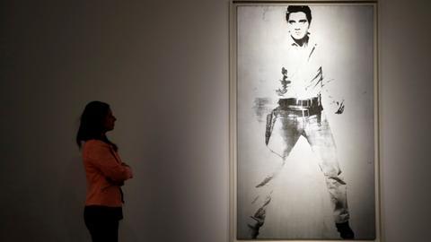Warhol's 'Double Elvis' could fetch $30 million at Christie's sale